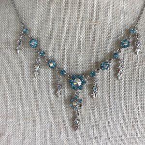 Kirks Folly Beautiful Blue Necklace
